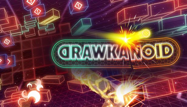 Drawkanoid logo image.